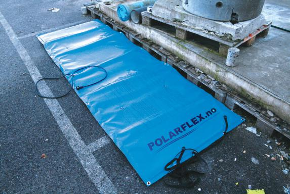 POLARFLEX Couvertures pour des applications industrielles